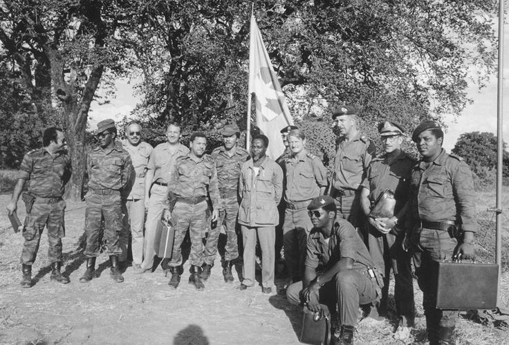The 3 Generals Geldenhuis, Meiring and Earp together
