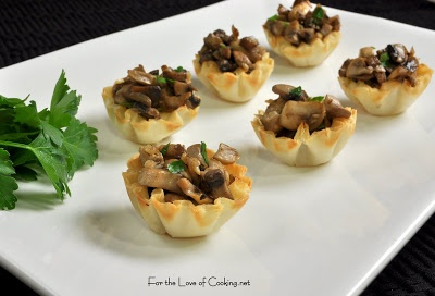 Baked Brie Topped With Caramelized Mushrooms Recipe — Dishmaps