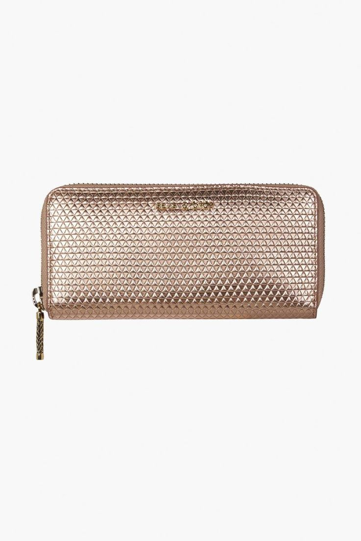 Sass and Bide - Manners Maketh Leather Wallet - Copper