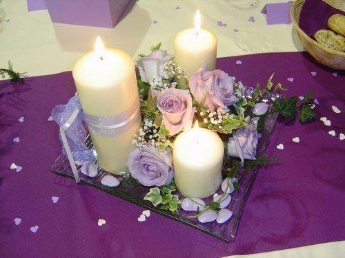 1000 Id Es Sur Le Th Me D Corations De Table Violettes Sur