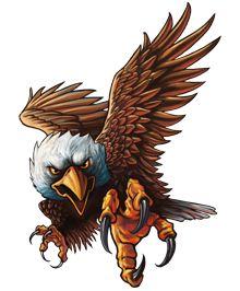 2019 的 Attacking Eagle Clip Art (19+) download free, best ...