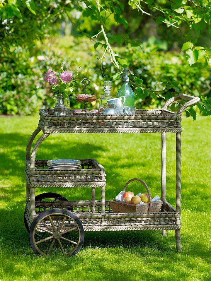 Sika-Design Georgia Antique Garten-Teewagen James