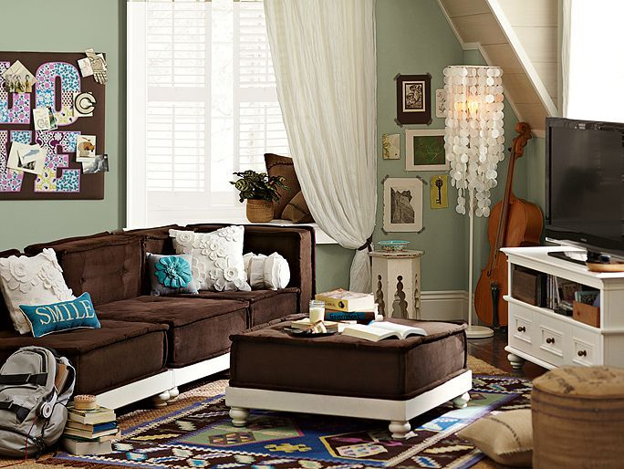 22 best Teen hangout room images on Pinterest Teen lounge rooms