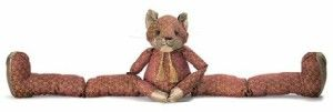 A big upcoming trend for 2014 is predicted for foxes (I'm surprised it's taken this long) and this lovable character really gives you the sense of wildlife coming indoors, whilst Sly Rufus is ready to look after your home.