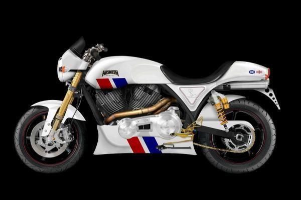 New motorcycle from Hesketh  Ny motorsykkel fra Hesketh