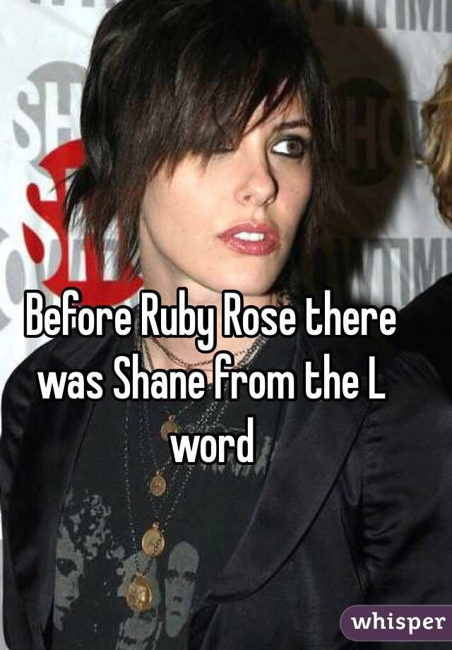 After re watching the L word having serious doubts. Lol.  Crushing hard on Shane!
