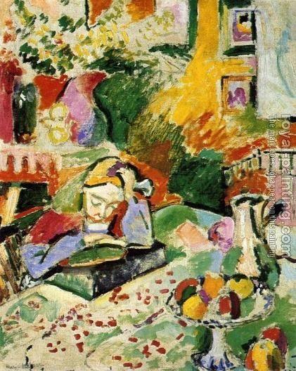 Henri Matisse -Une jeune lectrice