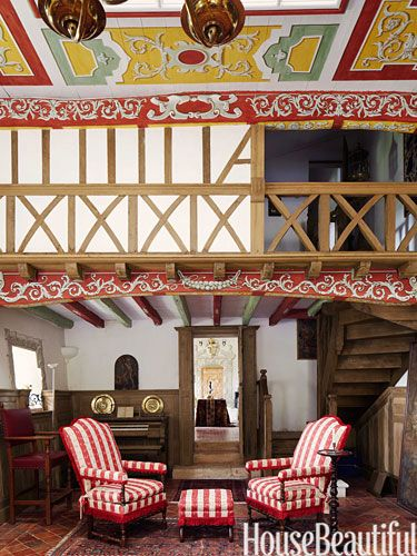 A 16th Century French Countryside Estate Country Interior DesignFrench