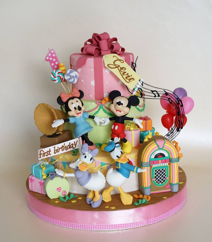 515 Best Images About Cakes Mickey Minnie Amp Friends On Pinterest