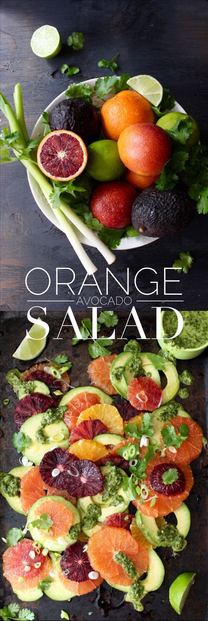 Orange Avocado Salad Recipe with Lime Dressing | CiaoFlorentina.com #CAonMyPlate #CultivateCA Learn more at Cultivate California: http://clvr.li/1Pj1Y7O