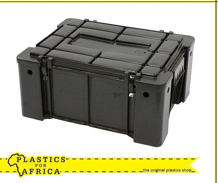 Planning a camping trip with dad for #FathersDay? This Ammo box is ideal for safaris and camping. Available from your nearest #PlasticsforAfrica branch.