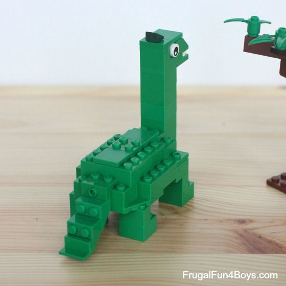 Five LEGO Dinosaurs to Build - Frugal Fun For Boys