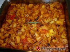 Πικάντικες πατάτες γιαχνί στον φούρνο