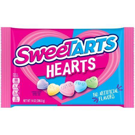 #Sweetarts hearts 💜💛💗💙💚