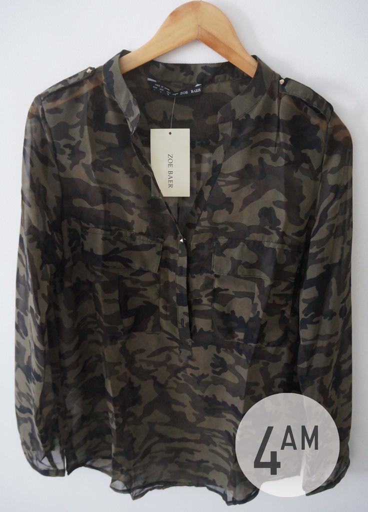 blusa militar 4AM