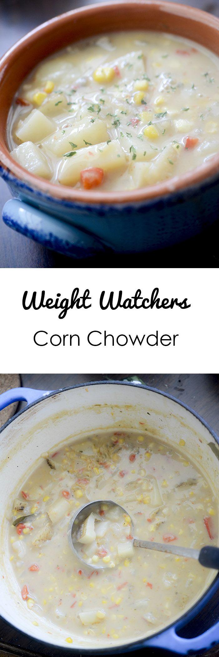 Weight Watchers Corn Chowder