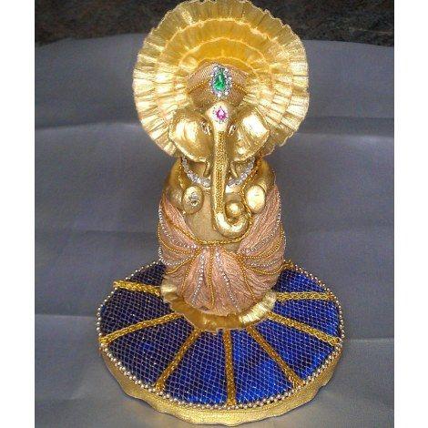 17 best decor for trays images on pinterest trousseau packing decorative coconut with ganesha wedding riha junglespirit Choice Image
