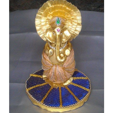 Decorative Coconut with Ganesha-Wedding-Riha