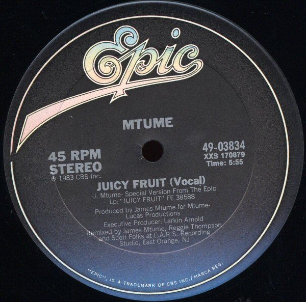 fruit lady juicy fruit song