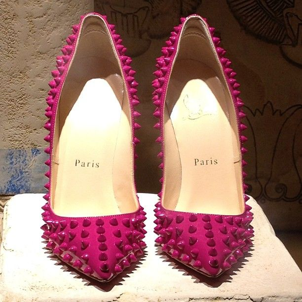Hot pink Christian Louboutin!! I want these as my wedding shoes!!