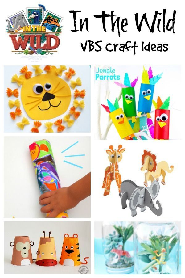 In The Wild Vbs Craft Ideas Vbs Themes Bible School Crafts Vbs