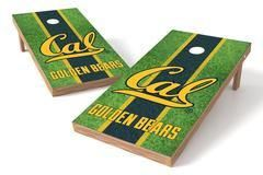 California Golden Bears Single Cornhole Board - Field