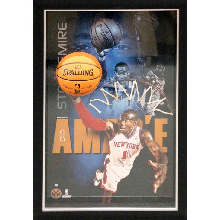 Amare Stoudemire New York Knicks Dunk Framed 20x32 Breaking Through Collage - Ever wanted to feel like your apart of the action? Here is your opportunity with this framed 3D action photograph of your favorite player. The actual image of Amare Stoudemire is mounted higher than the rest of the photograph which truly makes this piece 3-dimensional. The item comes framed in a shallow shadowbox that measures 20x32. This amazing piece is a must own for any Knicks fan!. Gifts > Licensed Gifts > Nba…
