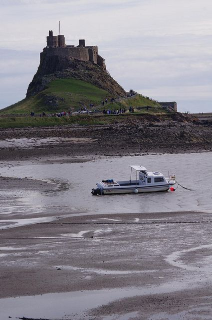 Lindisfarne Castle - Holy Island, Northumberland. Our tips for 25 fun things to do in England: http://www.europealacarte.co.uk/blog/2011/08/18/what-to-do-england/