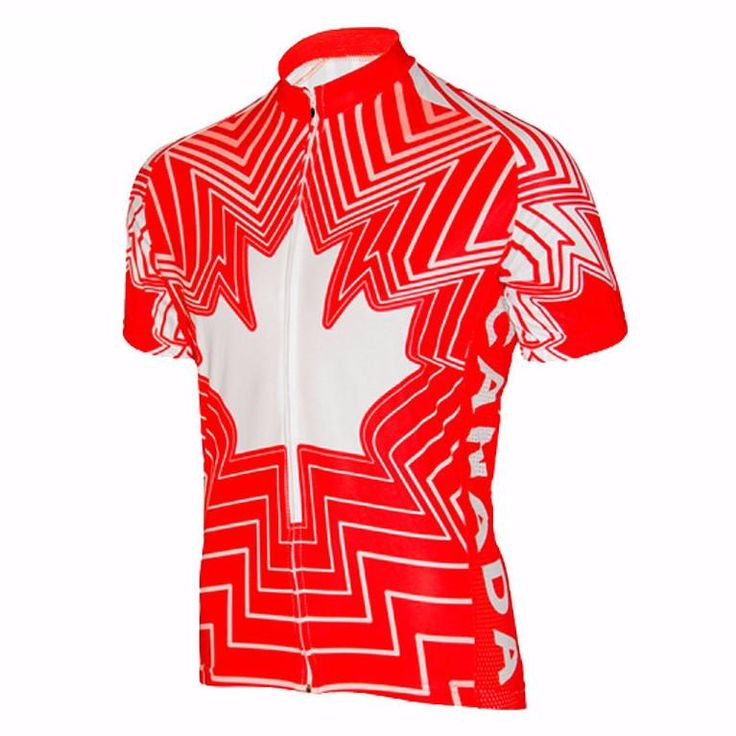 Canadian Maple Leaf Red Cycling Jersey – Online Cycling Gear