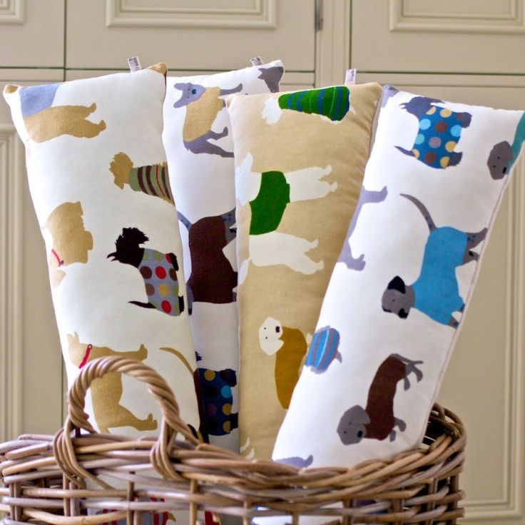 We Love Dogs - Olio of Oxney Dog Print Draught Excluder