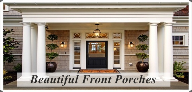 Beautiful front porches porches beautiful and front porches for Pictures of beautiful front porches
