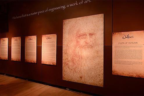 Da Vinci, La Exhibicion