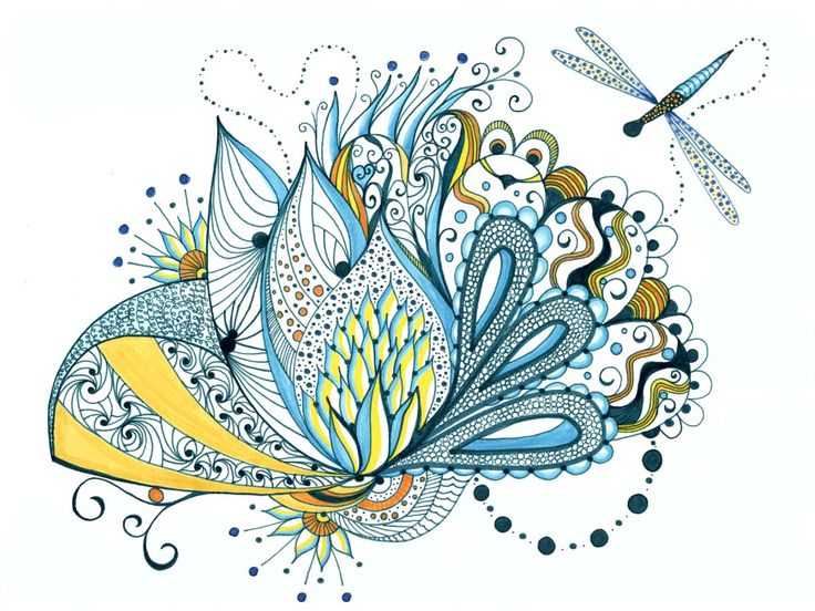 Permanent Sketch Book: 1000+ Images About Doodle Flowers On Pinterest