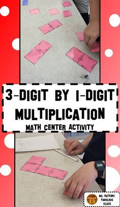 This multiplication math center activity contains 24, three digit by one digit multiplication problems. The game pieces come together to form a self checking larger magic square.