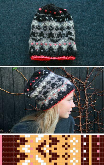 Free knitting pattern by Caroline LK