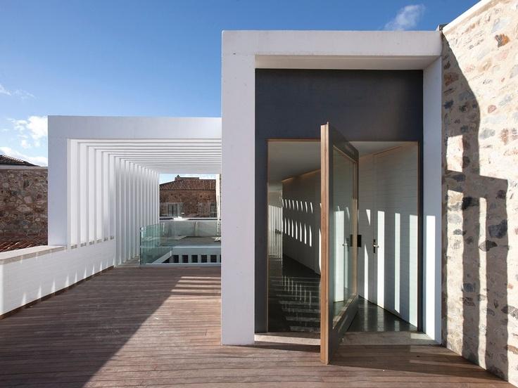 Atrio boasts sublime architecture by Emilio Tuñón Álvarez and Luis Moreno Mansilla, masters of modern design. #relaischateaux #atrio #design #minimalist #architecture #minimal