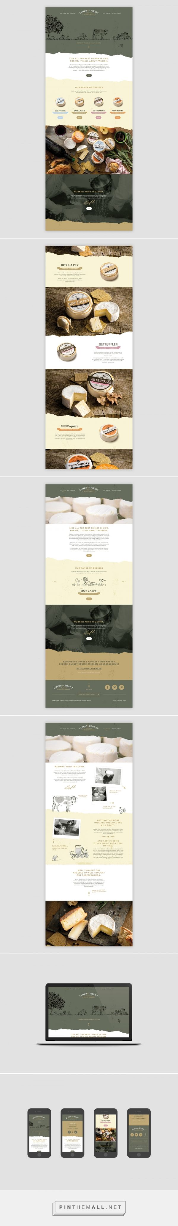 Curds & Croust Web Design by Friends Studio