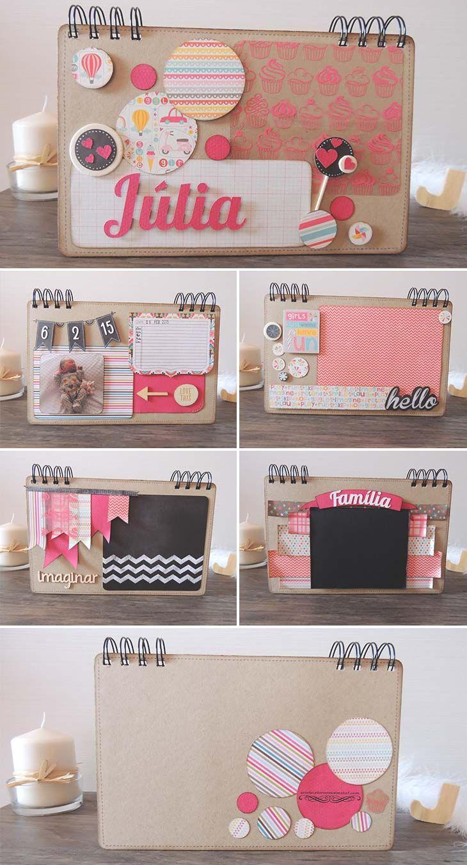 Eloroesunmetal | Album Infantil Personalizado Julia