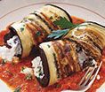 Eggplant Cannelloni: Recipes: Self.com : Kristine Subido, chef at Wave in Chicago, makes you forget about pasta. via @SELF Magazine