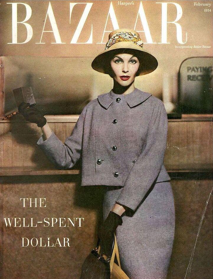 magazines bazaar vintage harpers