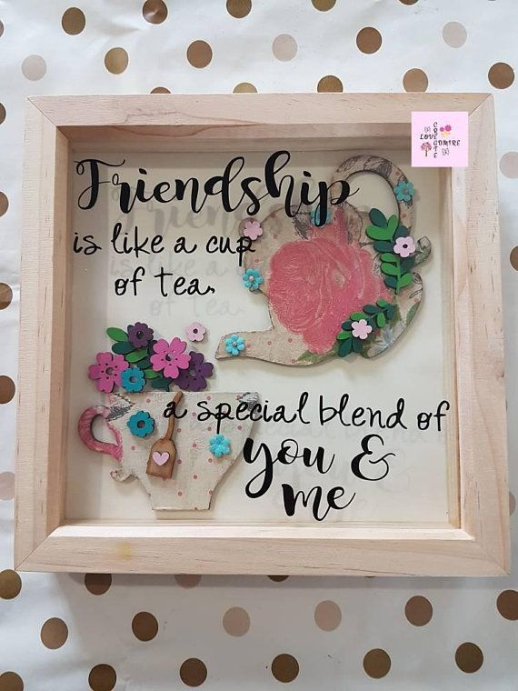 Friendship Gift Tea Lover Gift Gift For Her Unique