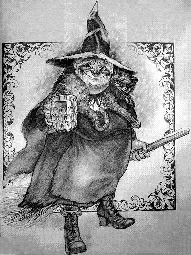 Nanny Ogg - Discworld, Terry Pratchett
