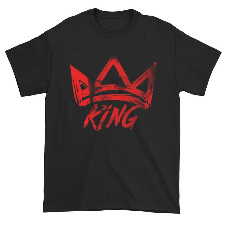 This piece is part of our KING collection. When it comes to the KING collection, its time to give our creative team time to shine. We took their best graphic design work and threw it on some tees.