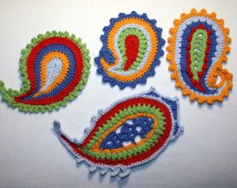 FLORAL MOTIFS crochet pattern PDF in English by CAROcreated