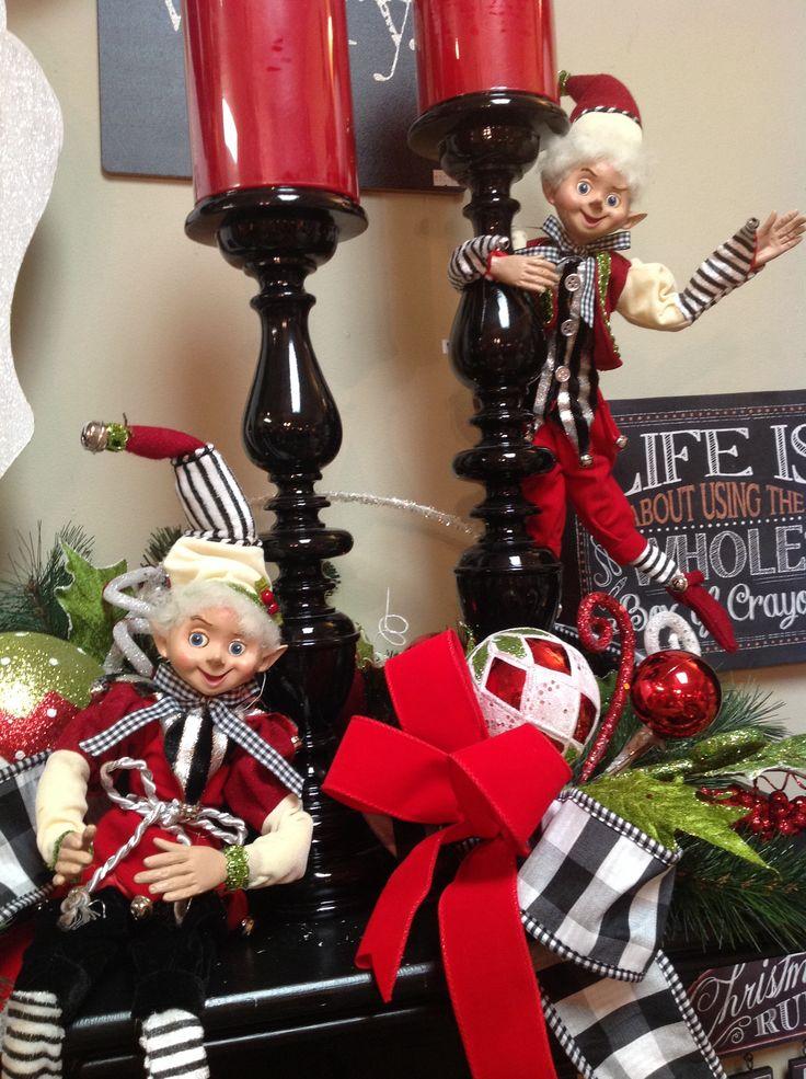 Elfs on the mantel