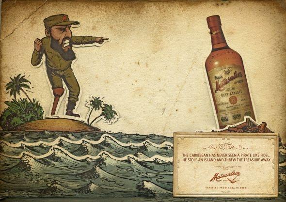 Matusalem Rum: Boat