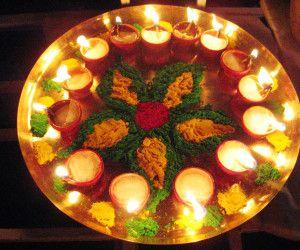 Diwali Deep Thali