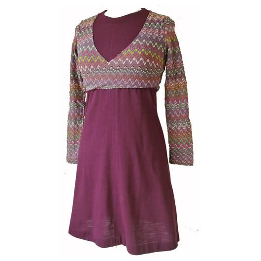 Plum purple 1960s bolero mini dress - Vintage Clothing, Vintage Stock, Vintage Dresses, Vintage Shoes UK