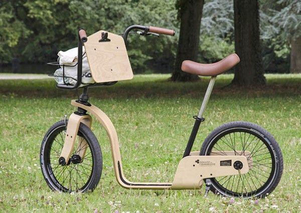フランスのおしゃれな足蹴り自転車「dandy horse(ダンディー・ホース)」 - えん乗り