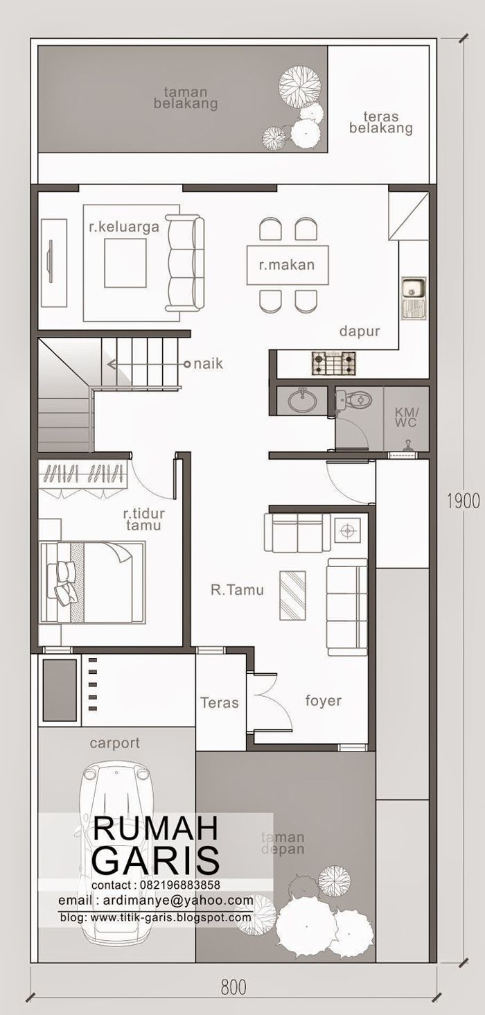 Two Story Narrow Lot House Plan Pinoy Eplans Narrow House Plans Narrow Lot House Plans Narrow Lot House